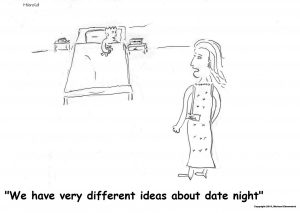 Harold Mug - We have very different ideas about date night