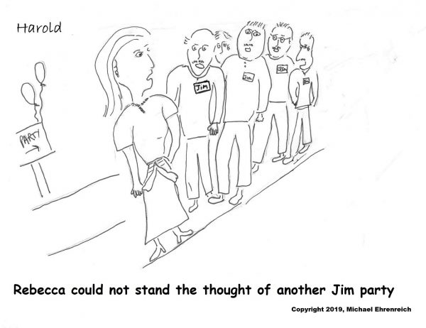 Harold Mug - Jim Party