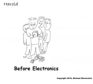 Harold Mug - Before Electronics